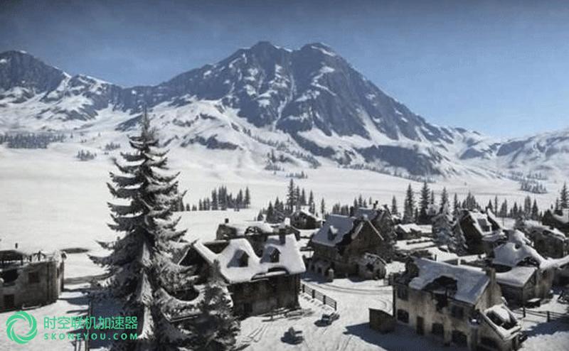 绝地求生雪地模式地图全景曝光