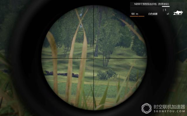 武装突袭3中狙击手利用调整密位来提高射击精度