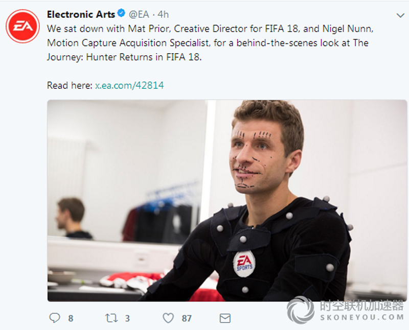 FIFA18第二季的故事模式正在制作中