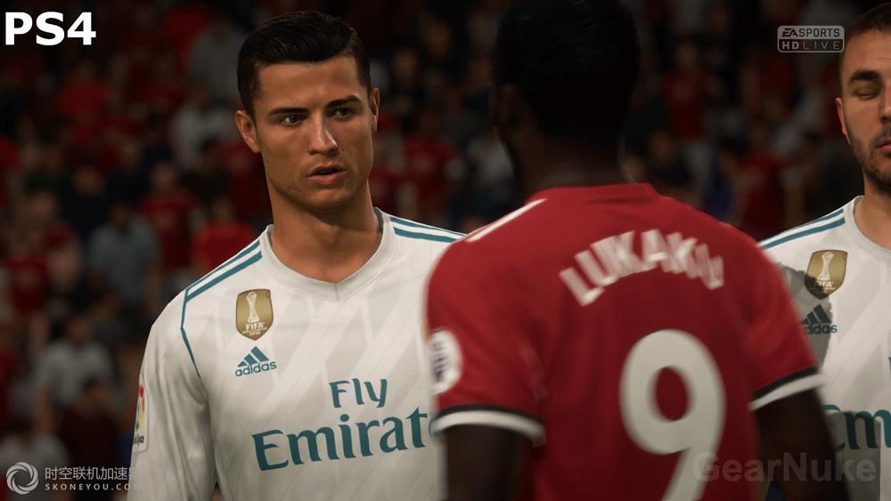 FIFA 18试玩demo上线 PS4 Pro画质获提升